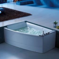 baignoire balneo asymetrique 2 places