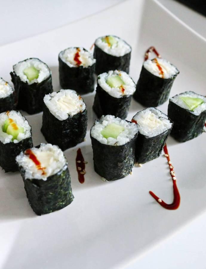 Recette facile pour réaliser des makis végétarien !