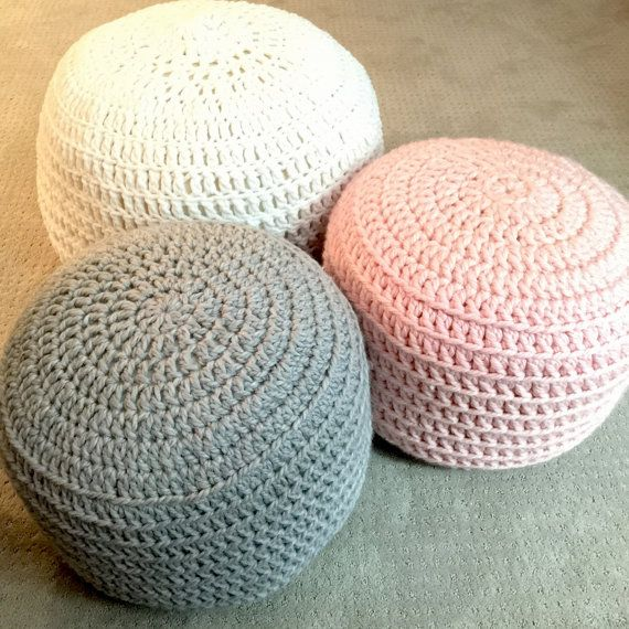 pouf-tricot