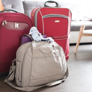 Mes valises pour la maternité