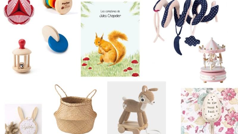 Wishlist jouets de Noël – Bébé de 3 mois