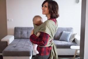 Porter son bébé avec le Mid-Taï