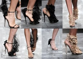 Valentino Spring Summer 2010 shoes...