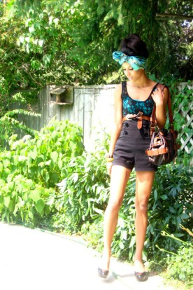 blue-scarf-blue-shirt-black-urban-outfitters-shirt-black-sirens-shorts_400