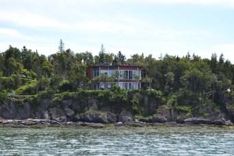 Villa Granbleu - vue depuis la rivière