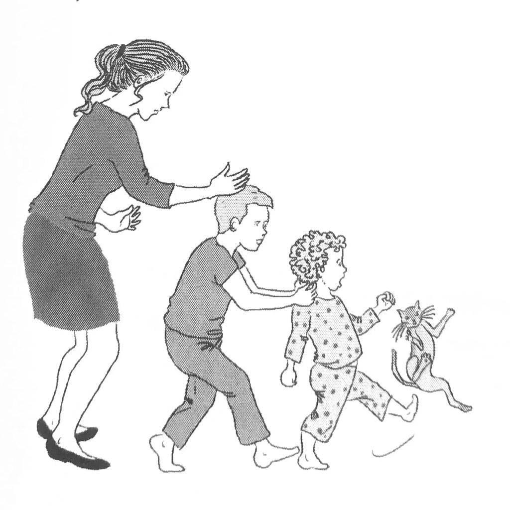 Nos enfants nous imitent pour résoudre leurs conflits