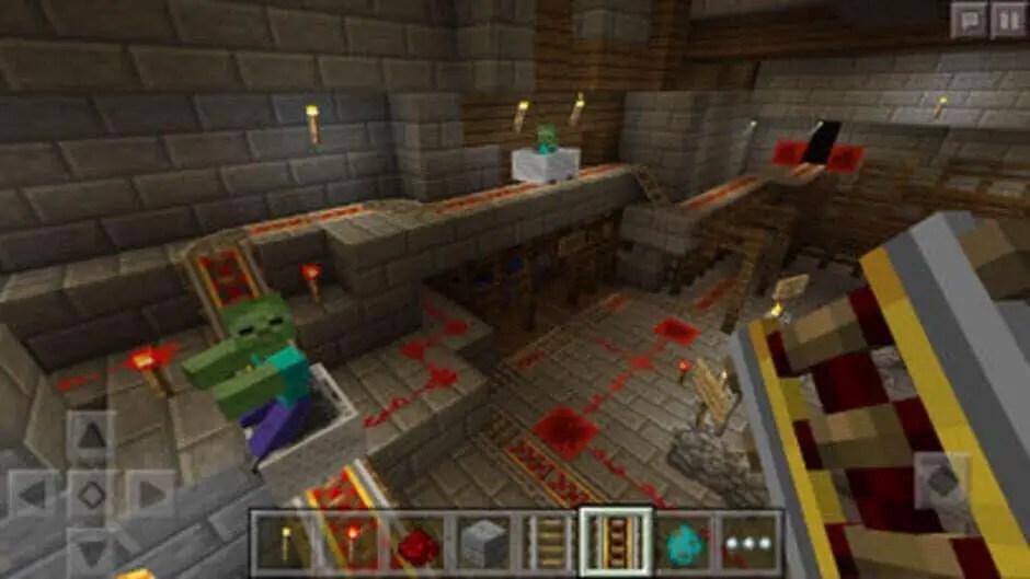 Capture du jeu Minecraft