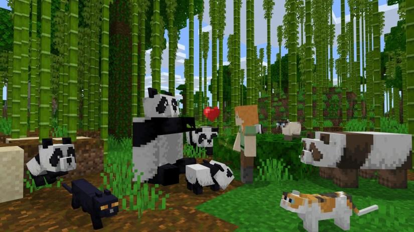 Animaux et autres mobs dans Minecraft
