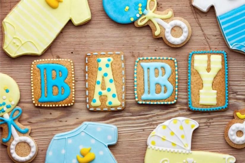Illustration pour une baby shower