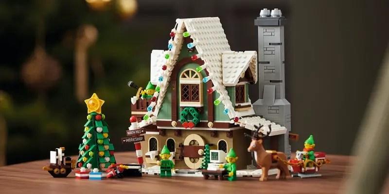 Le pavillon des elfes est une édition limité de LEGO pour Noel