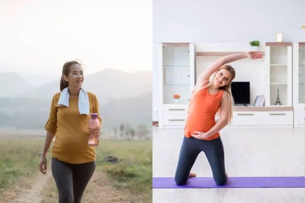 L'activité physique enceinte aide à stimuler le transit