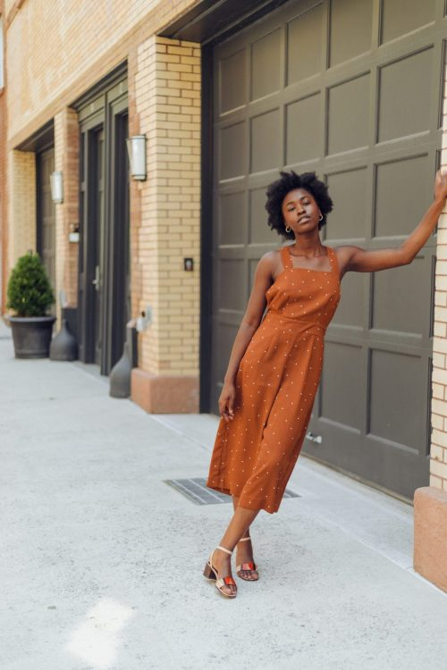 Black Girl Leaning