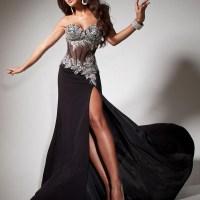 Une  robe de soirée: l'indémodable