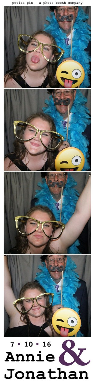 Petite Pix Classic Photo Booth at the Cicada Club in Downtown Los Angeles for Annie and Jonathan's Wedding 32