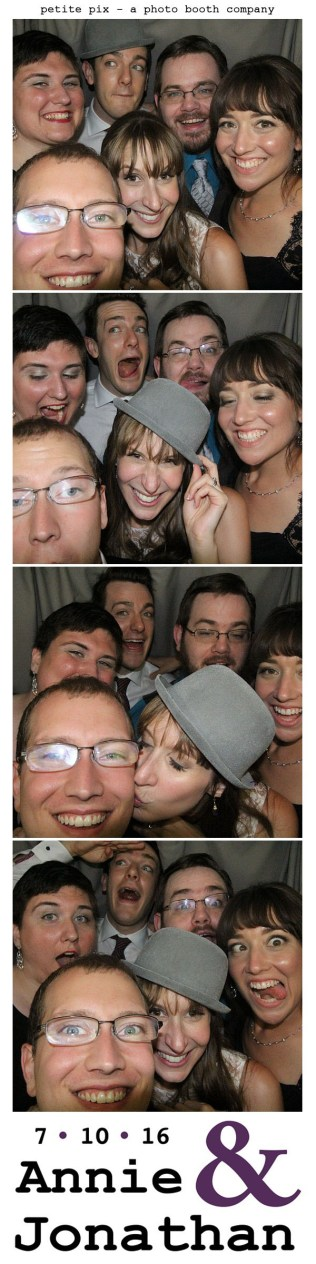 Petite Pix Classic Photo Booth at the Cicada Club in Downtown Los Angeles for Annie and Jonathan's Wedding 52