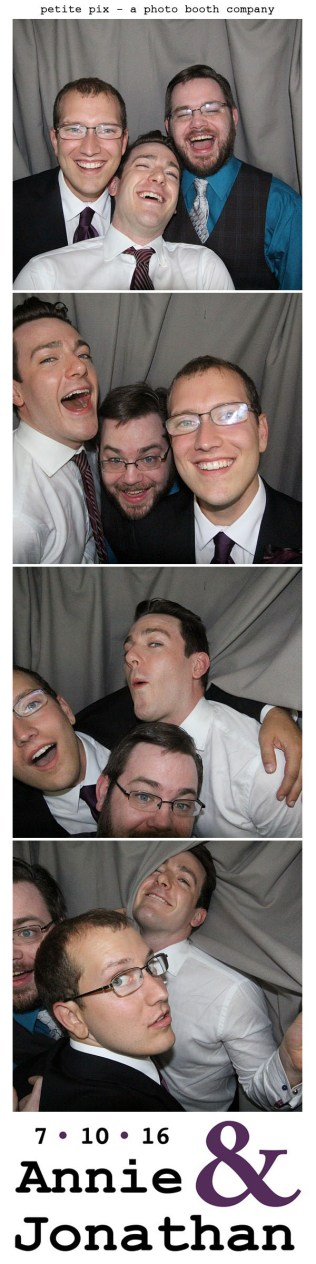 Petite Pix Classic Photo Booth at the Cicada Club in Downtown Los Angeles for Annie and Jonathan's Wedding 56