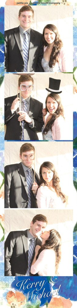 Petite Pix Vintage Photo Booth at the Redondo Beach Historic Library for Kerry and Michael's Wedding 3