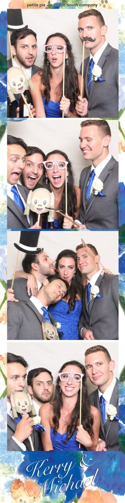 Petite Pix Vintage Photo Booth at the Redondo Beach Historic Library for Kerry and Michael's Wedding 39