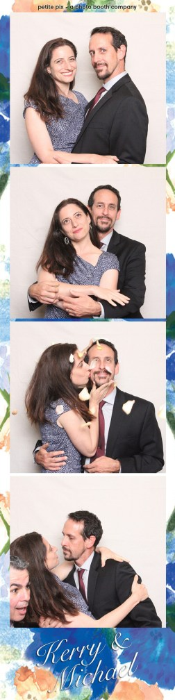 Petite Pix Vintage Photo Booth at the Redondo Beach Historic Library for Kerry and Michael's Wedding 50