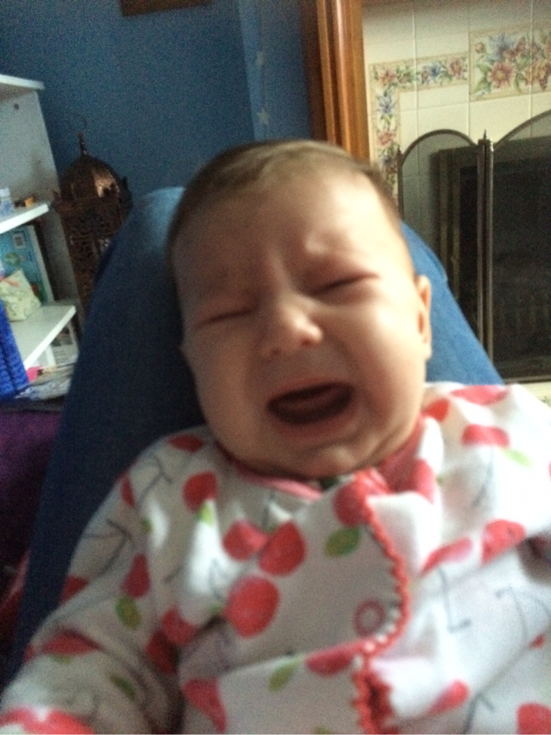 crying baby picture