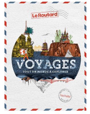 couverture du livre voyages : tout un monde à explorer qui fait parti des idées de cadeaux pour un voyageur