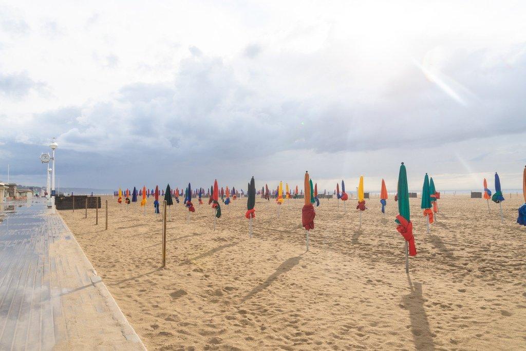 plage deauville découvrir la Normandie