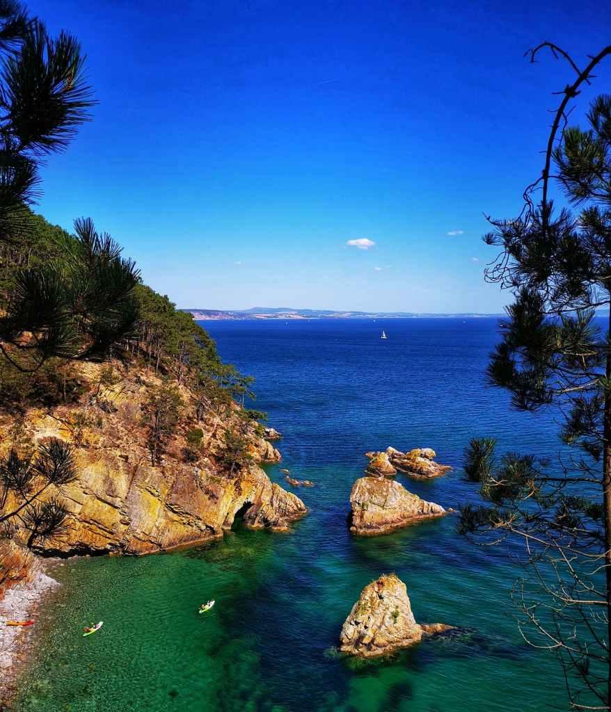 presqu'île de crozon en Bretagne