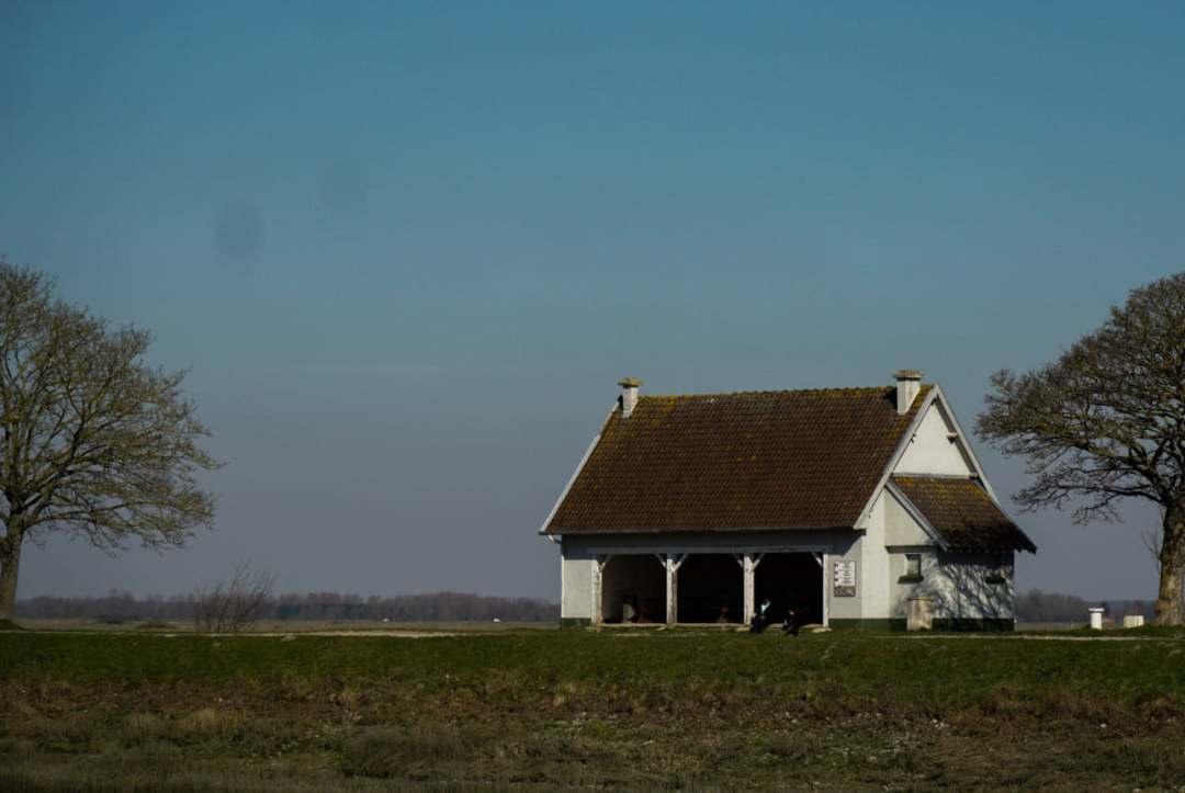 petit maison près de la baie de st valery sur somme