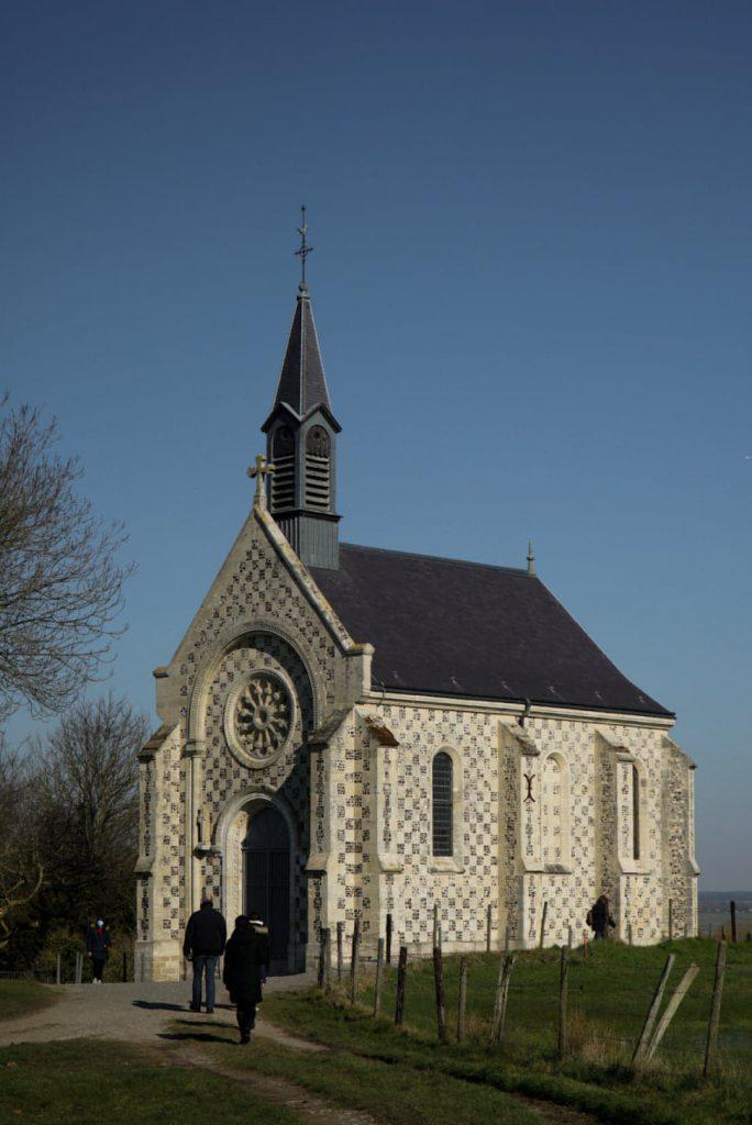 chapelle de st valery sur somme dites des marins en Baie de Somme