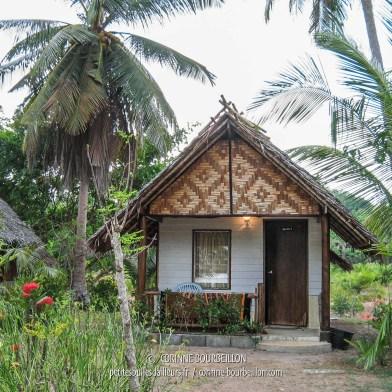 Mon petit bungalow à 500 baths, chez Koh Yao Beach Bungalows. Koh Yao Noi, Thaïlande, février 2009.