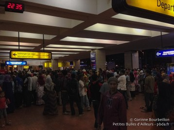 Aéroport de Jakarta. Janvier 2015.