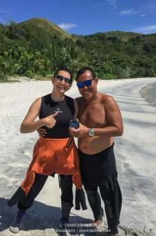 Le boulet et le héros... (Ondoliang Beach, Centre-Sulawesi, Indonésie, juillet 2017)
