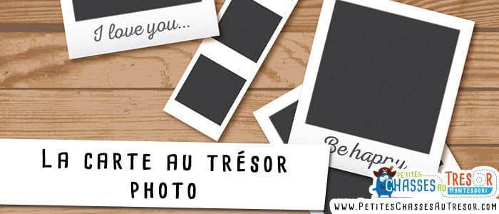 Carte au trésor en photos