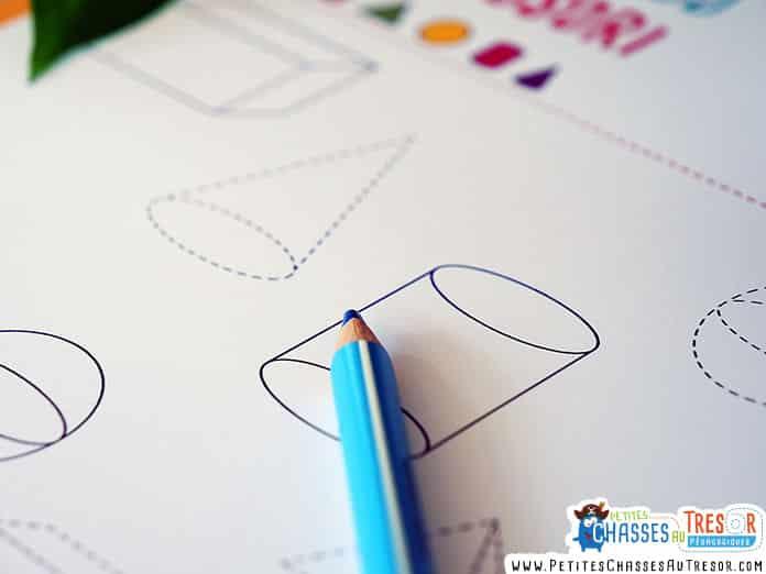 kits de géométrie pour maternelle à imprimer