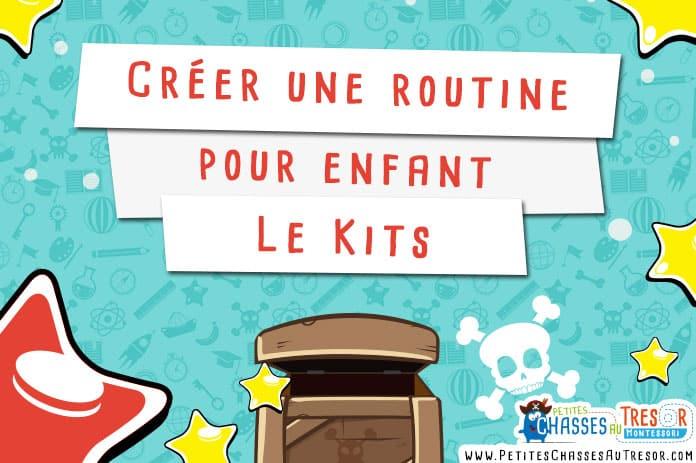 créer des routines pour les enfants