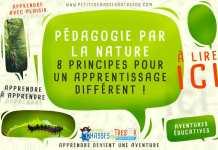 Uné pédagogie par la nature pour les enfants