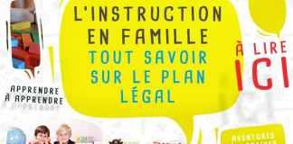 Faire l'instruction en famille