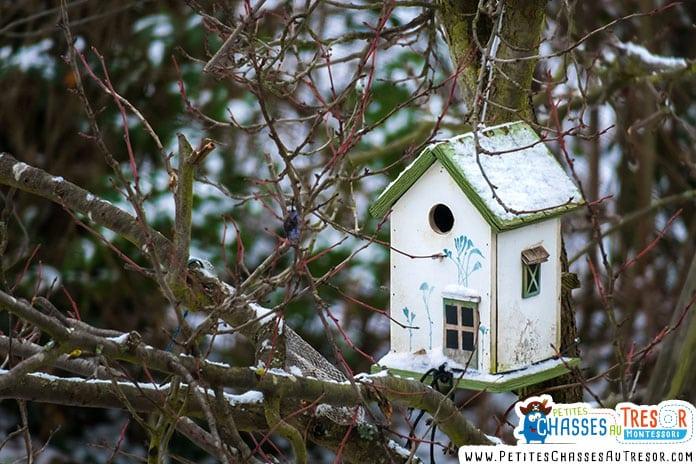 Plan pour fabriquer un maison à oiseaux