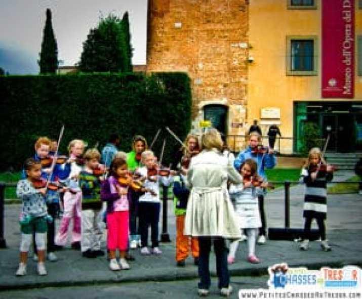 Découverte musique enfants