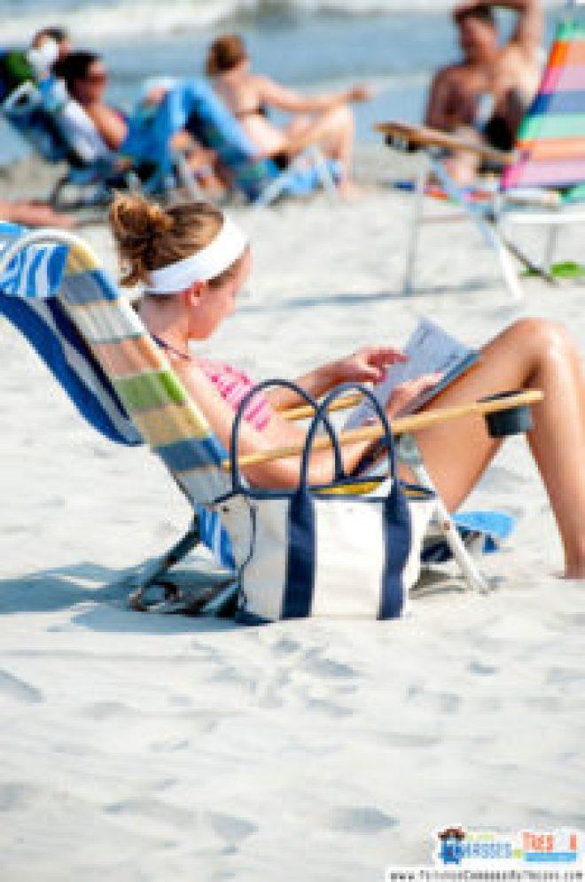 Coup de soleil en plein été sur la plage
