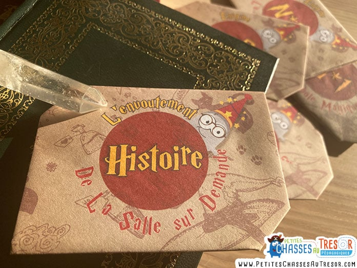 Histoire escape game Harry Potter