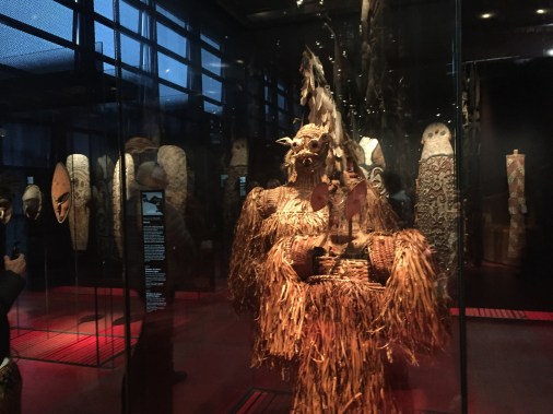 The museum is extremely large and contains pieces from across the globe. It was opened by the former president of France, Jacques Chirac.