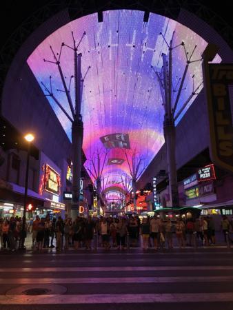 Fremont Street Experience Parc D Attraction Las Vegas