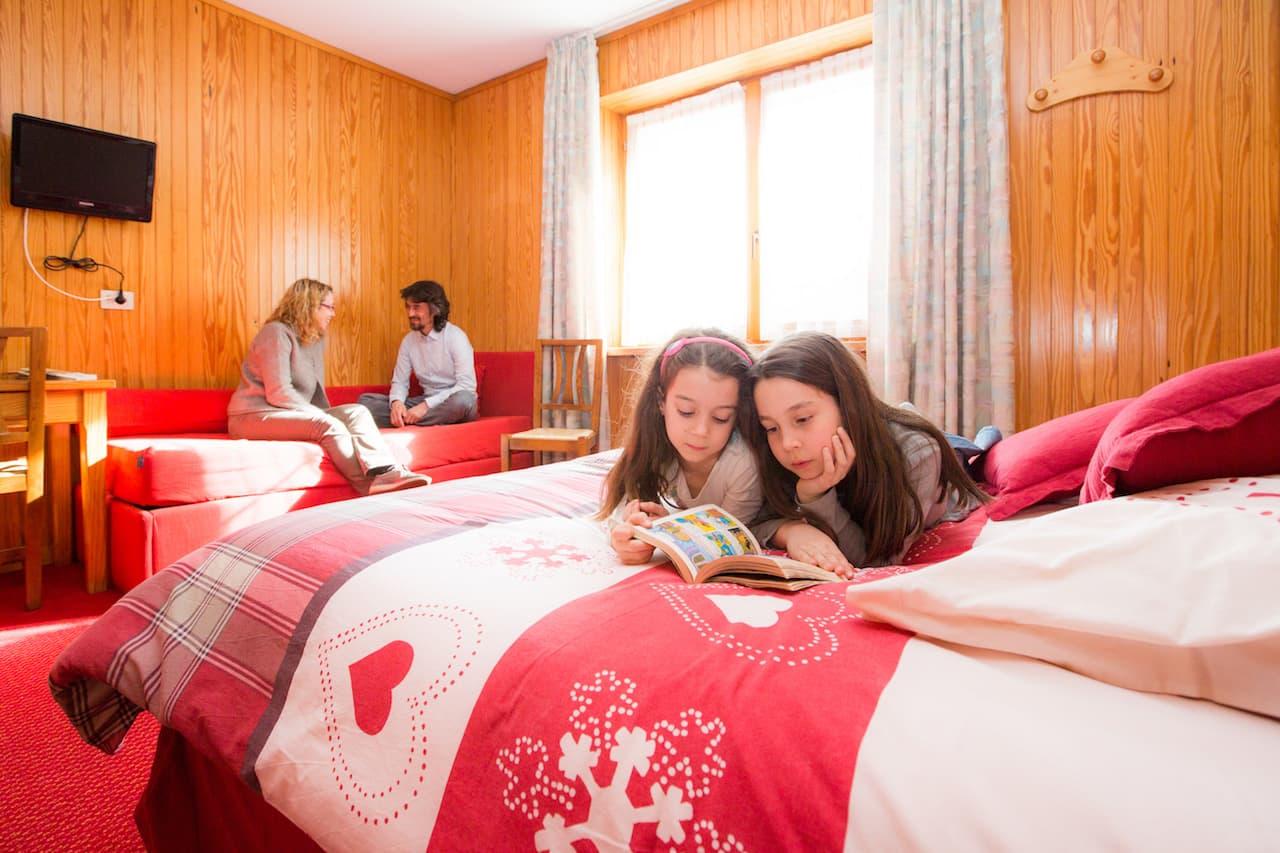Petit Family Hotel Cogne - camera standard per famiglie