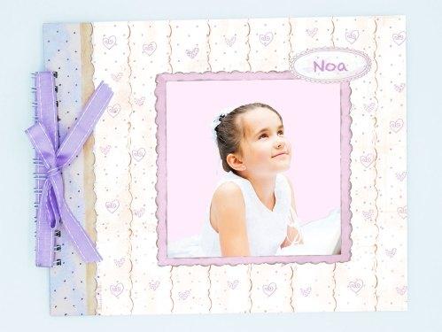 álbum comunión niña modelo foto Noa petit kokoro