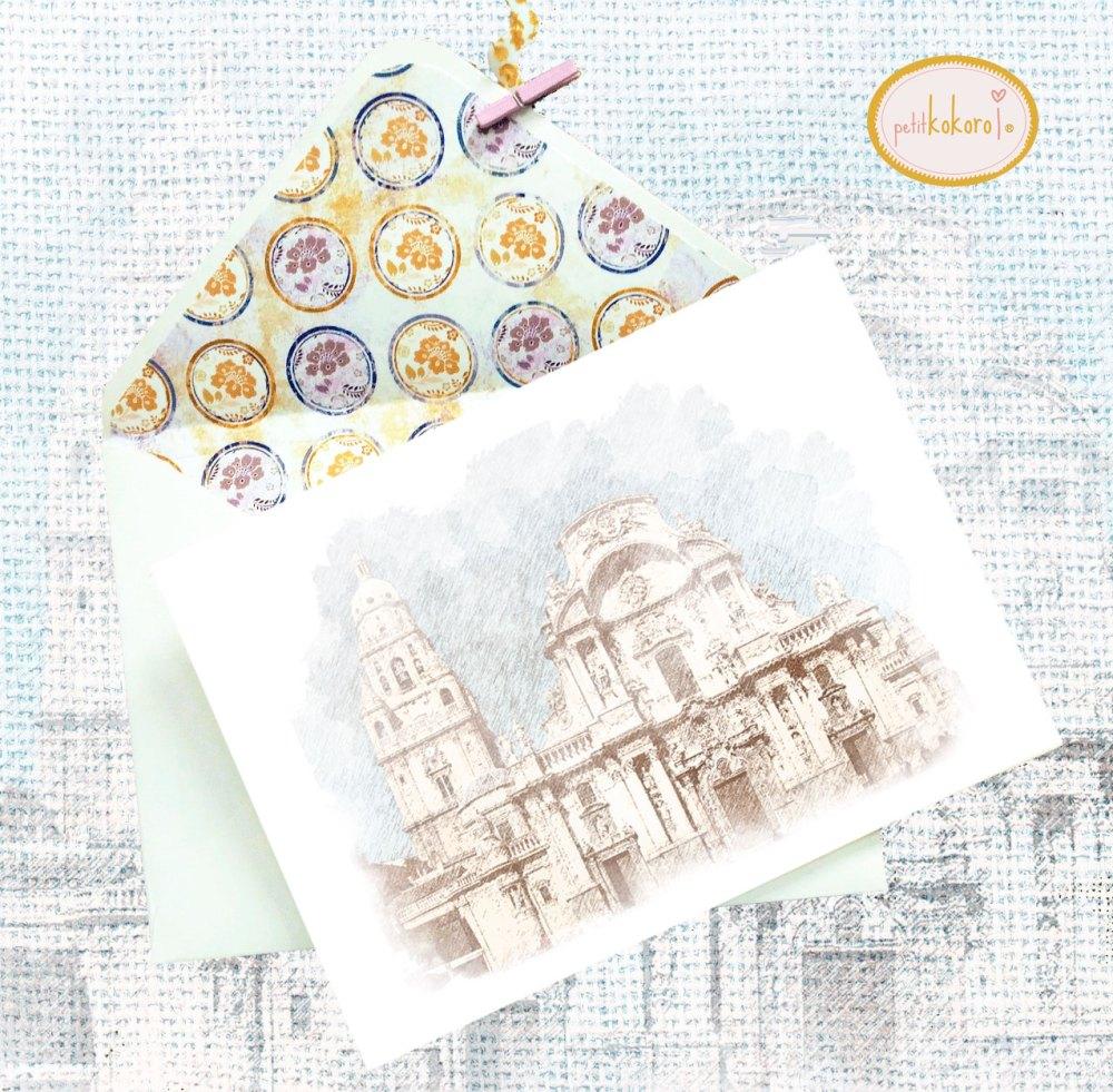 Invitación boda modelo Cathedral Petitkokoro