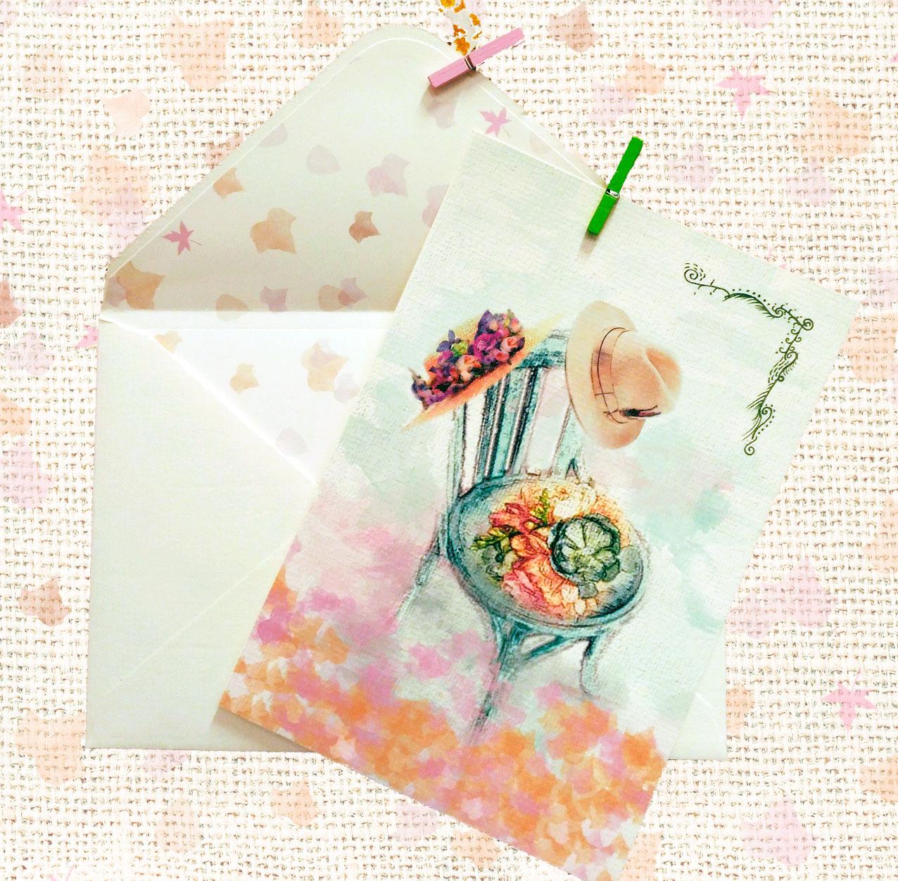 Invitación boda modelo Silla Nupcial Petitkokoro