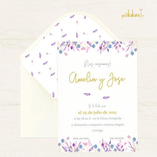 Invitación-de-boda-modelo-Lilac-II-Petitkokoro
