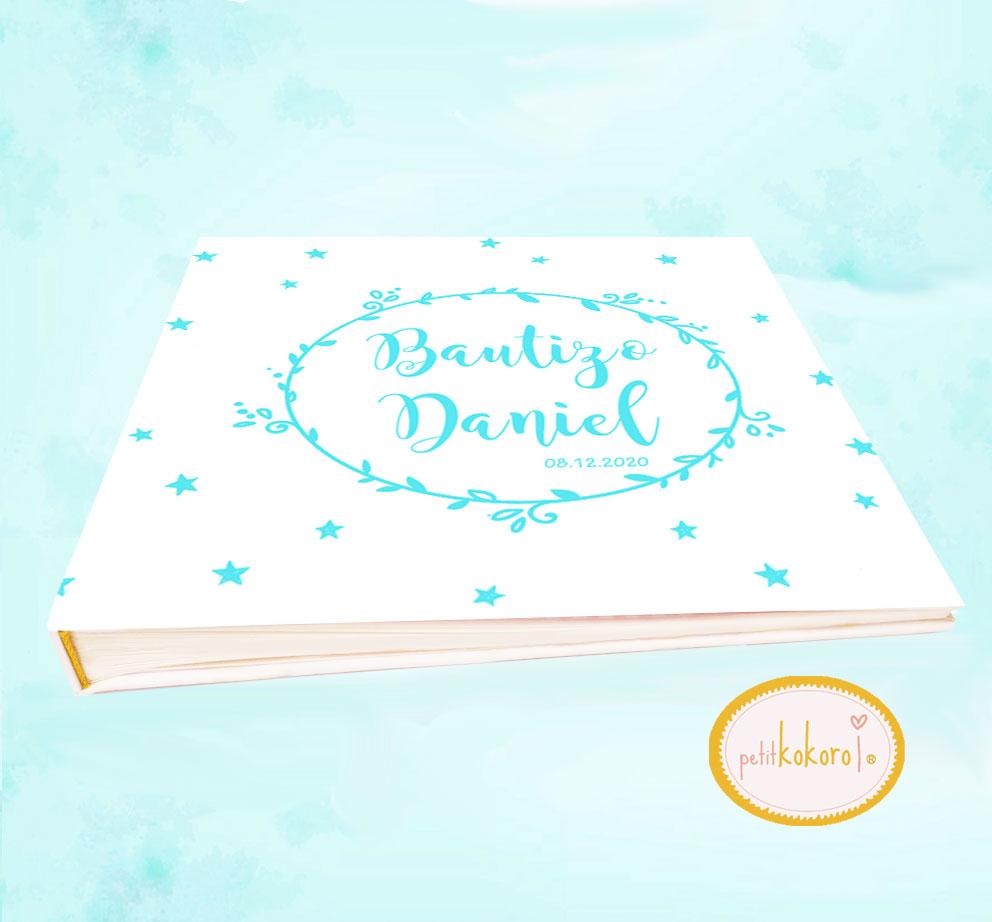 Libro de bebé modelo orla Daniel
