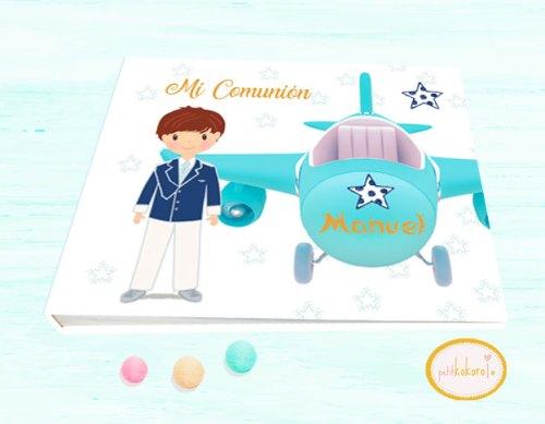 Libro-de-firmas-comunión-niño-modelo-avión